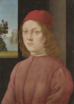 A Boy in a Scarlet Cap