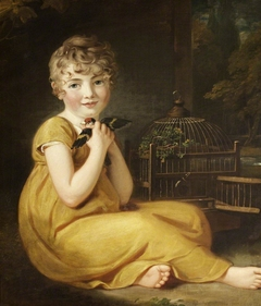 A Child with a Goldfinch