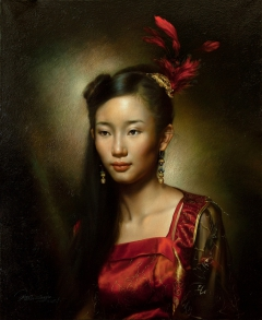 A Chinese Girl's Portrait