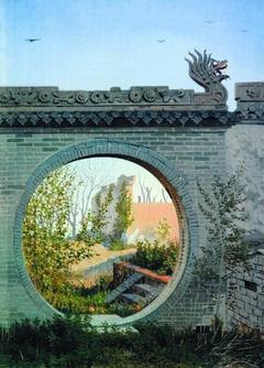 A Garden gate in Chuguchak