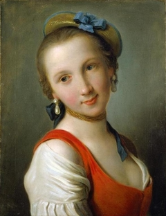 A Girl in a Red Dress