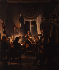 A Smoking Party
