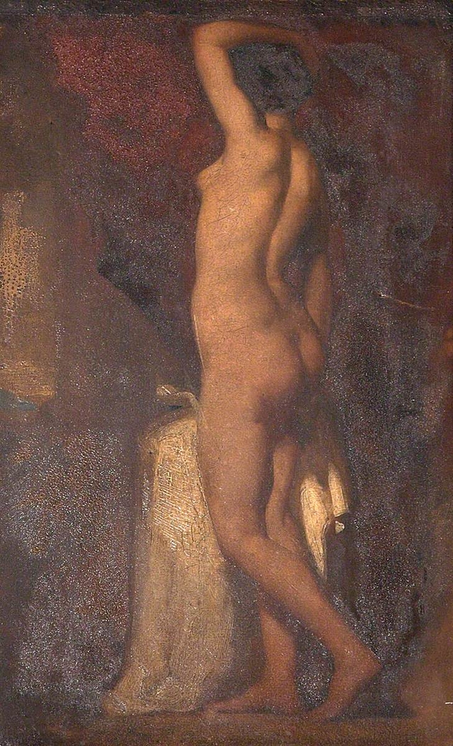 A Standing Female Nude