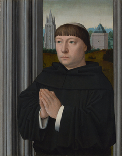 An Augustinian Friar Praying
