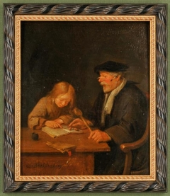 An Old Teacher and his Pupil