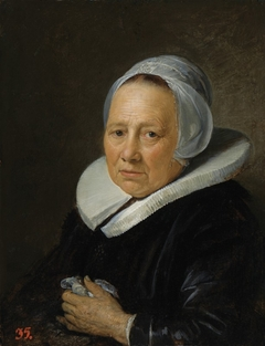 An Old Woman in a White Cap