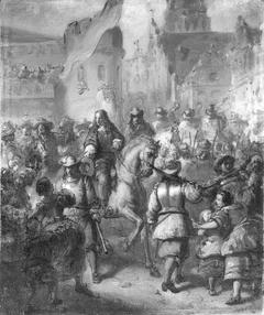 Anno 1688. Intocht van Willem III te Londen