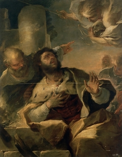 Appearance of the Angel to King David