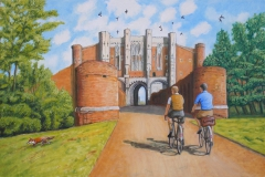 Arrival at Thornton Abbey Gatehouse