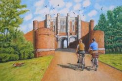 Arrival at Thornton Abbey Gatehouse