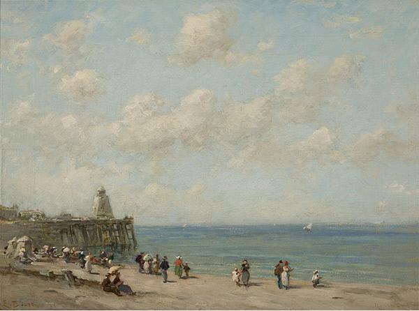 Beach at Honfleur