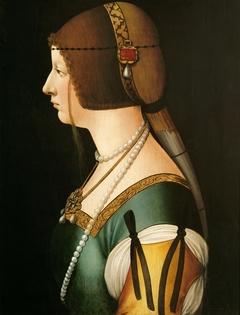 Bianca Maria Sforza (1472-1510), Kaiserin, Profilbildnis