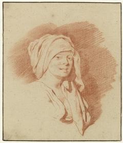 Borstbeeld van een vrouw