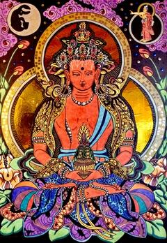Buddha Amitabha (Amitayus upgraded)