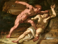 Cain slaying Abel.