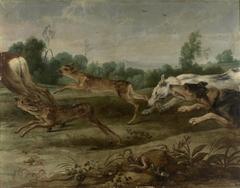 Caza de ciervos