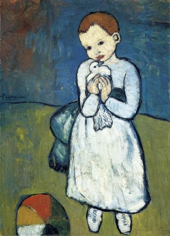 Child with a Dove (L'enfant au pigeon)