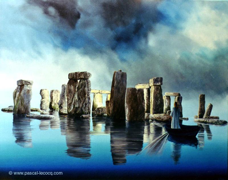 CIMETIERE LACUSTRE - Lake graveyard -  by Pascal