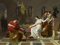 Cleopatra and Octavian