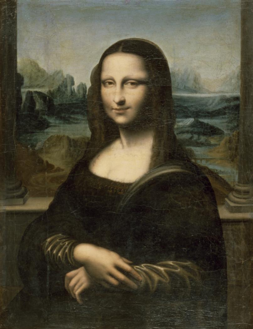 "Copy of the ""Mona Lisa"""