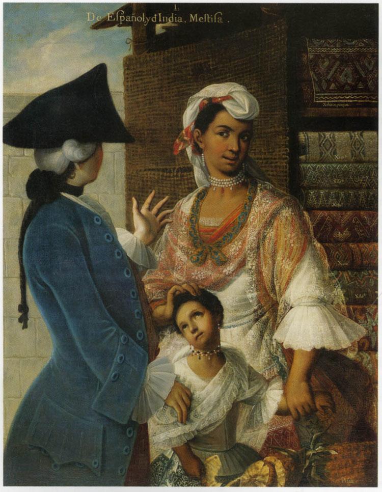 De Español y d'India - Mestiza