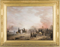 De slag bij Houthalen (België) op 6 augustus 1831 tijdens Tiendaagse Veldtocht
