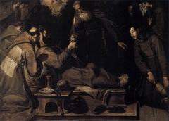 Death of St Francis