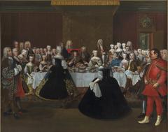 Den tyske kejser i Karl VI's taffel