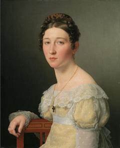 Emilie Henriette Massmann, gift 1824 med kammerjunker Frederik Wilhelm Caspar von Benzon