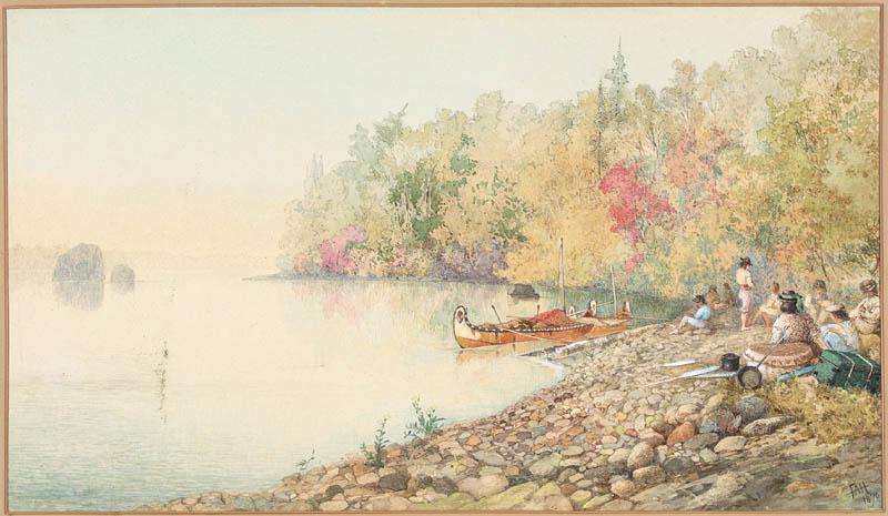 Encampment of Voyageurs