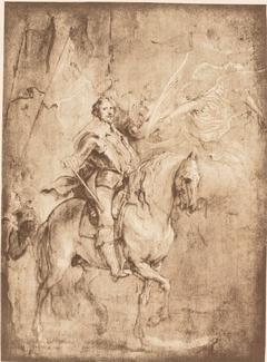 Equestrian Portrait of Duke Epergnon