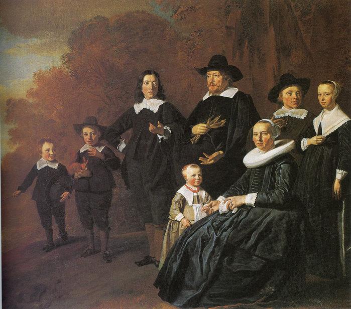 Family Portrait of Rutger van Weert and Maria Beels