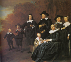 Family Portrait of Rutger van Weert and Maria Beels