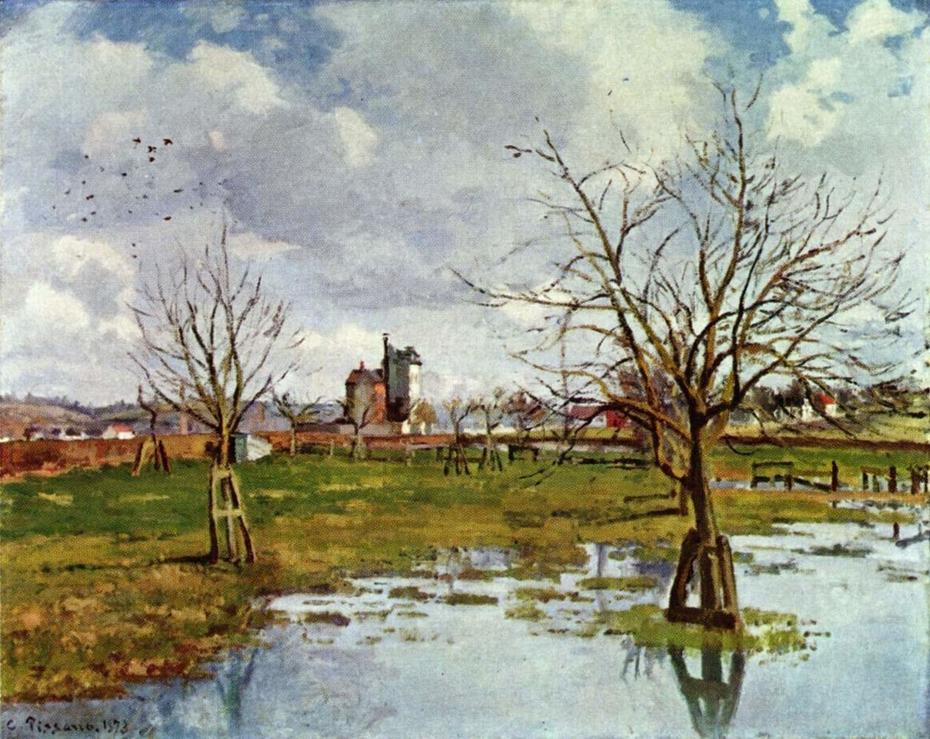 Flood at Saint-Ouen-L'Aumône