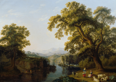 Flusstal von Isernia bei Neapel