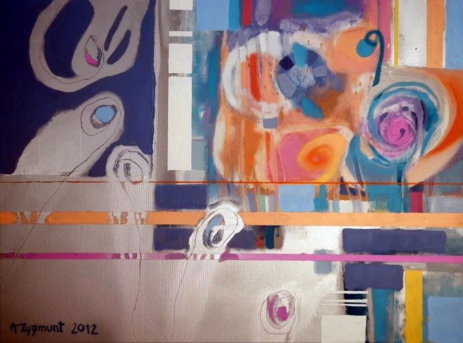 FRIVOLOUS, 2012, oil on canvas, by ANNA ZYGMUNT