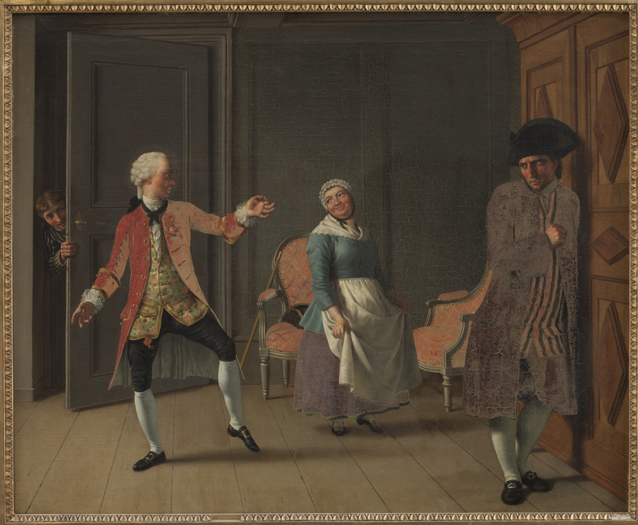 "From Ludvig Holberg's ""Jean de France"", Act 1, Scene 6"