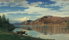 From the Maurangerfjord