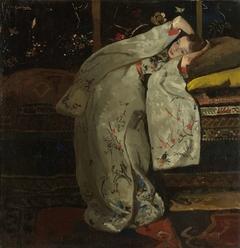 Girl in a White Kimono