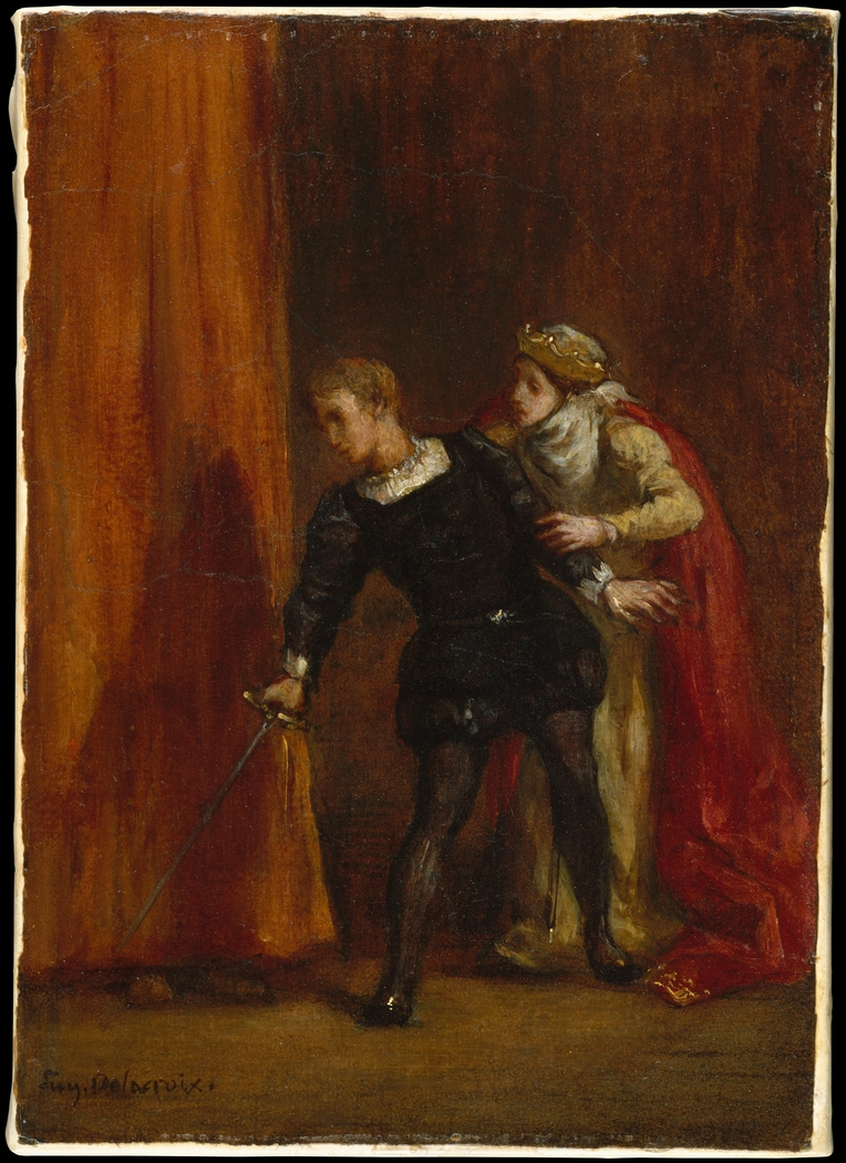 Hamlet and His Mother