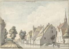 Het dorp Molenaarsgraaf in de Alblasserwaard