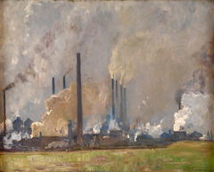 Hoesch Steelworks from North