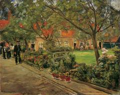 Hospital garden in Edam