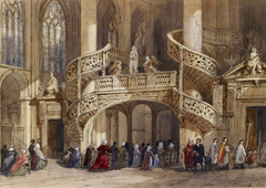 Intérieur de l'église Saint Étienne du Mont