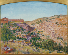 Jerusalem and the Valley of Jehoshaphat from the Hill of Evil Counsel