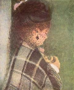 Jeune femme à la voilette