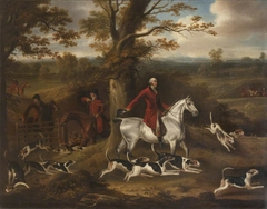 John Corbet and the Warwickshire Foxhounds