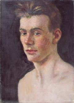 John Feeney; verso: Sketches, Two Faces