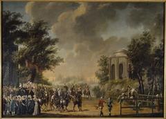 """Karusell vid Drottningholm 1778, """"Dianas fest"""""""