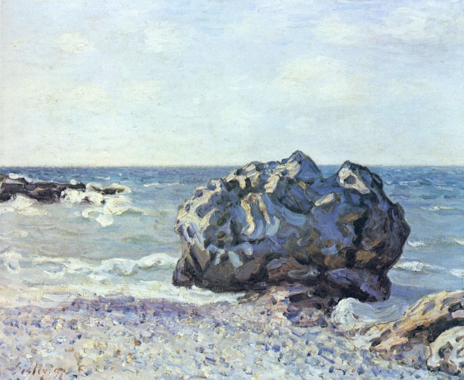 La Baie de Langland, Storr's Rock, Matin